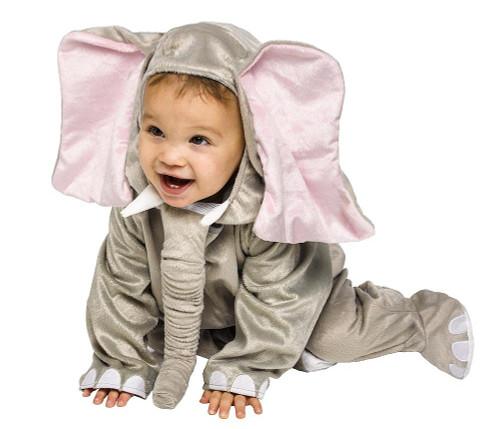 Costume d'Éléphant Câlin pour Bébé