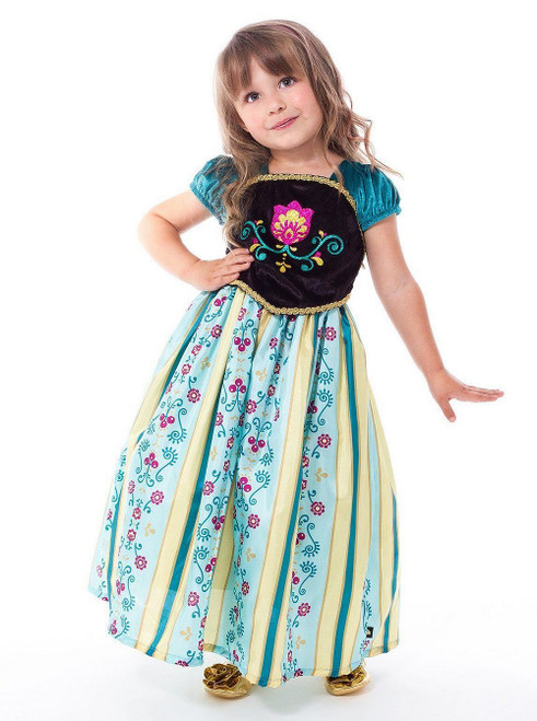 Costume Anna Reine des Neiges Couronnement