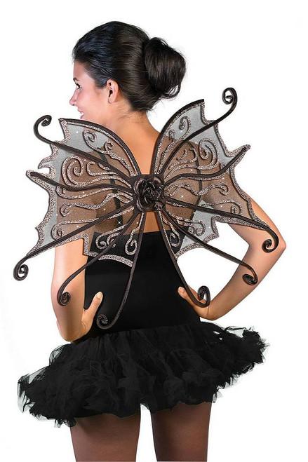 Ailes de Papillon Sombre