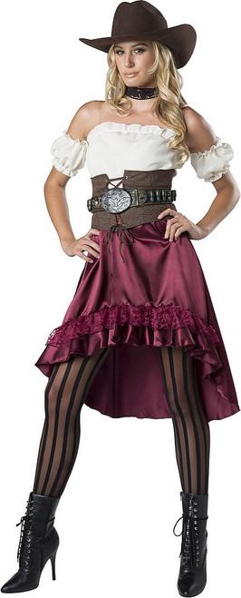 Costume de Fille du Saloon pour Femme