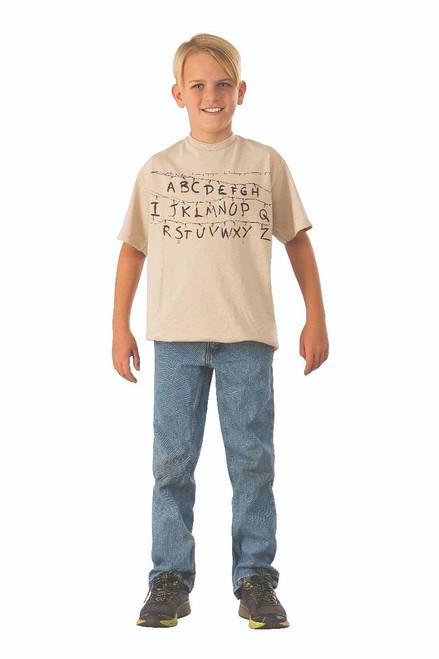 T-shirt Alphabet Stranger Things