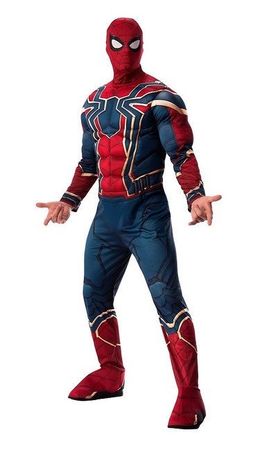 Costume fer Spider-Man Deluxe Adulte