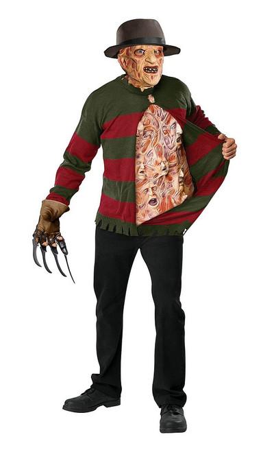 Pull de Freddy Krueger avec pièce pour le torse