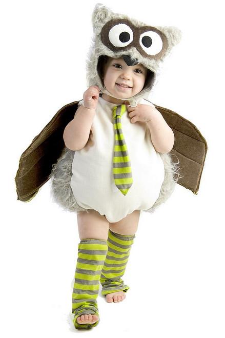 Costume de Hibou Gris pour Bambin