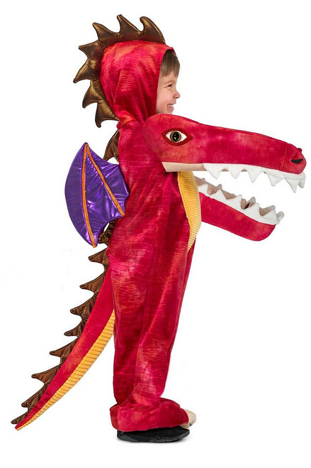 Costume de Dragon Rouge pour Bambin