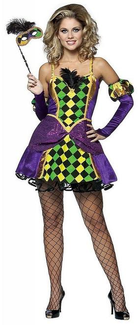 Costume de Reine de Mardi Gras
