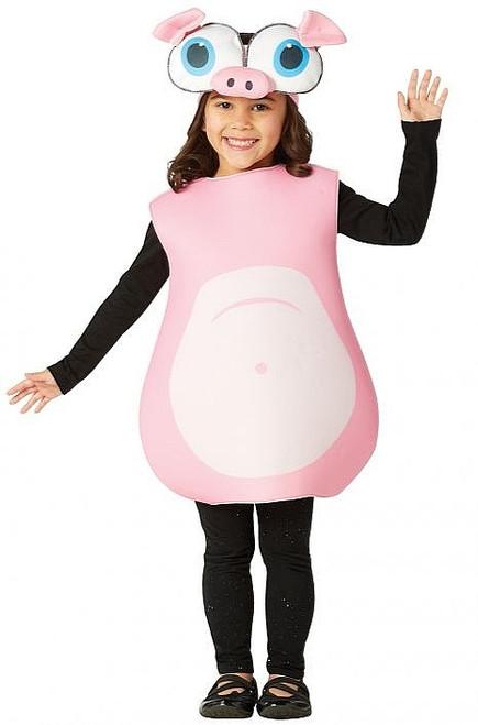 Costume Cochon aux Grands Yeux