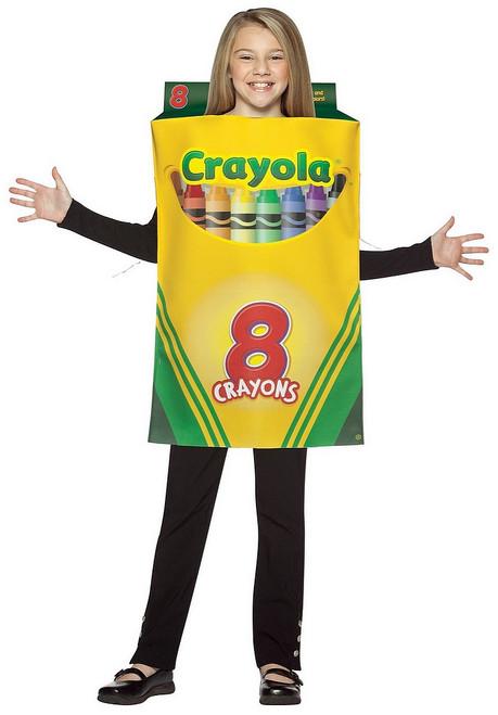 Costume Boite de Crayons Crayola Enfant