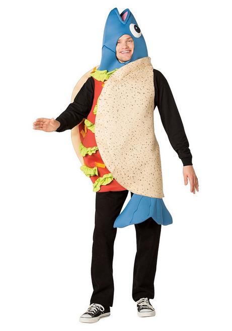 Costume de Taco au Poisson