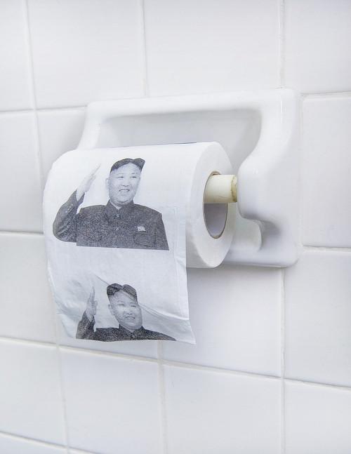 Papier Toilette Kim Jong Un