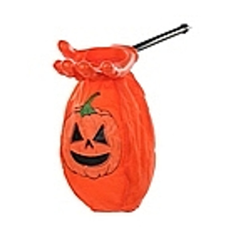 Pochette Halloween Citrouille Orange