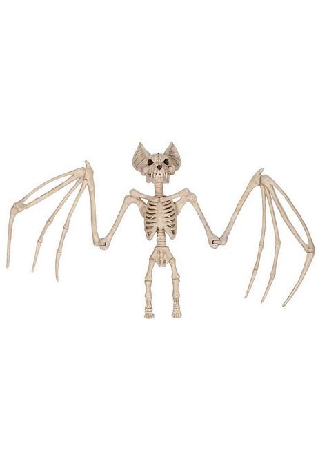 Effrayante Décoration Grande Chauve-Souris Squelette 22 Pouces