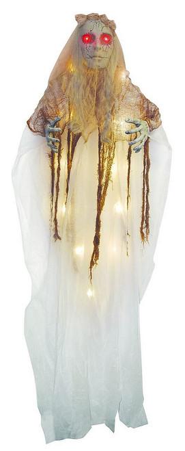 Décoration Halloween Mariée Fantôme Suspendue de 72 Pouces