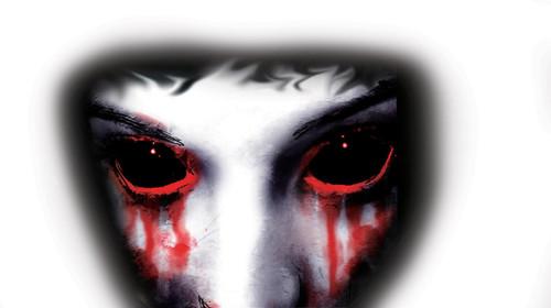 Décoration pour Fenêtre Vampire de 14 pouces sur 8 pouces