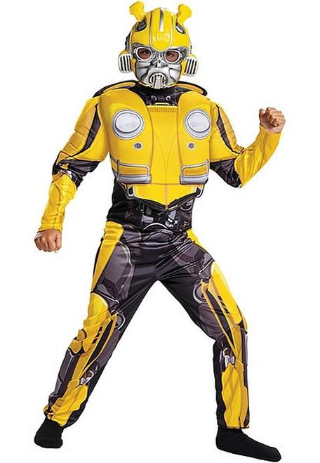 Costume de Bumblebee Musclé Transformers