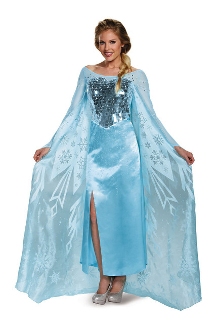 Costume d'Elsa Reine des Neiges Adulte