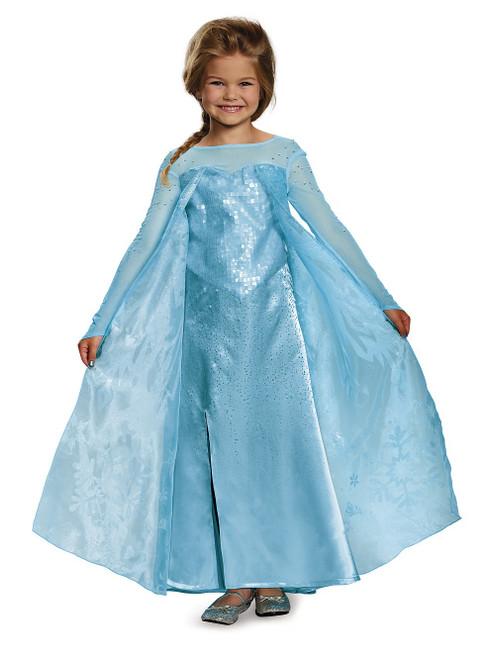 Costume d'Elsa Reine des Neiges Enfant Ultra Prestige