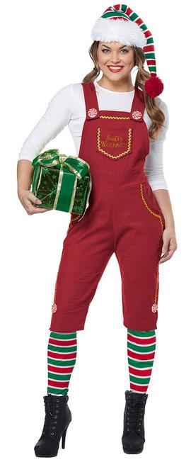 Noël avec style et aidez le Père Noël avec ce Costume d'Elfe De l'Atelier Du Père Noël Pour Adultes