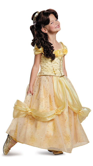Costume Disney Belle Prestige Fille