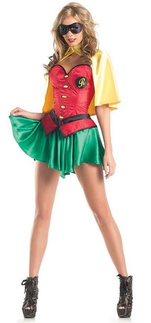 Femmes DC Robin Costume