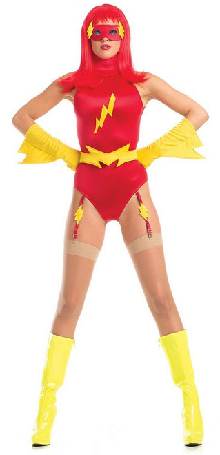 Le flash Femmes costume de super héros