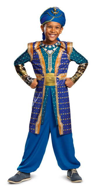 Costume de Génie d'Aladdin Classique pour Enfant