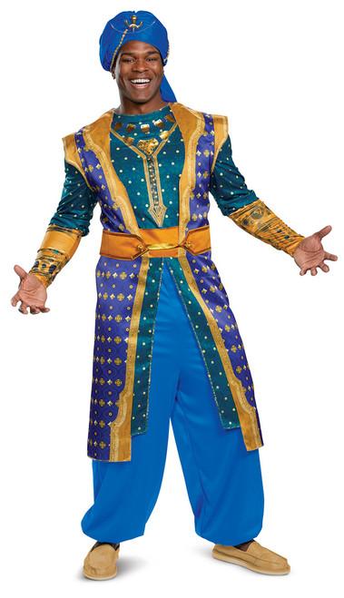 Costume de Génie d'Aladdin Classique pour Adulte