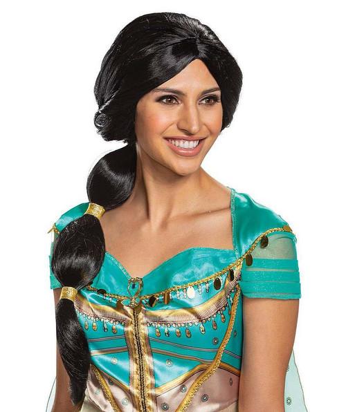 Perruque de Jasmine Aladdin pour Adulte