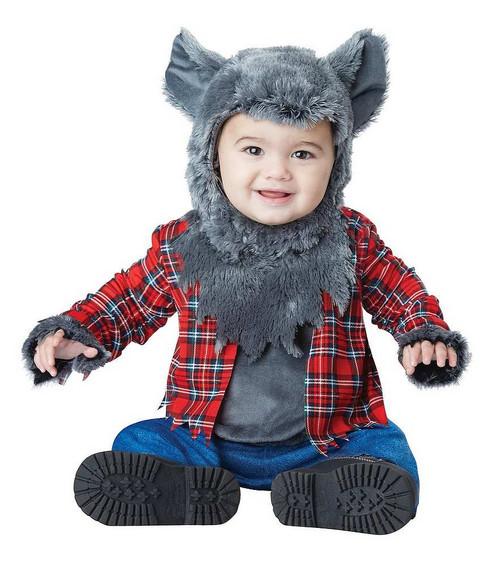 Costume de Loup pour Bébé