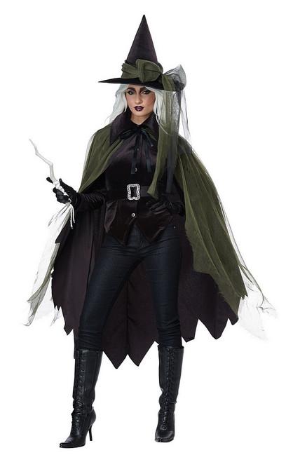 Costume de Sorcière Gothique pour Femme