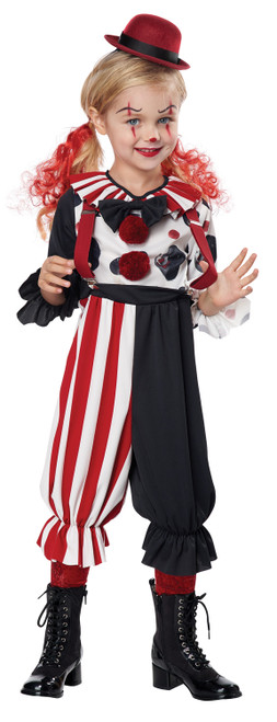 Costume de Clown Effrayant Fille