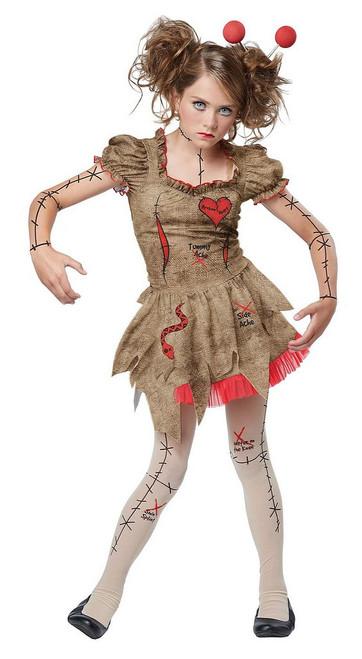 Costume Poupée Vaudou pour Préado