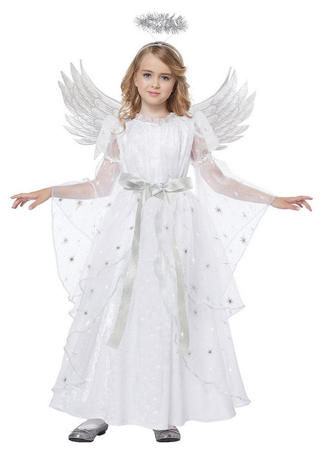 Costume Ange Étoilée pour Fille