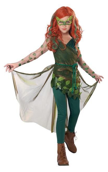 Costume de l'Empoisonneuse (Poison Ivy) pour Fille