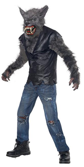 Costume Loup Garou Pleine Lune pour Garçon
