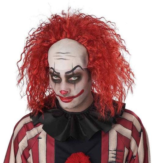 Perruque Clown Mi-Chauve