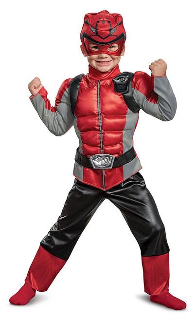 Costume de Ranger Rouge Beast Morpher Enfant