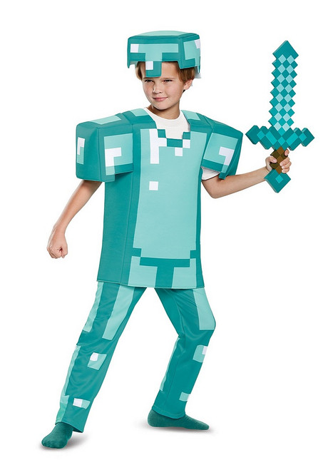 Costume Armure Minecraft Enfant