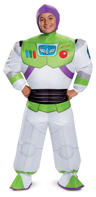Costume de Buzz l'Éclair Gonflable pour Enfant