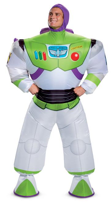 Costume de Buzz l'Éclair Gonflable pour Adulte