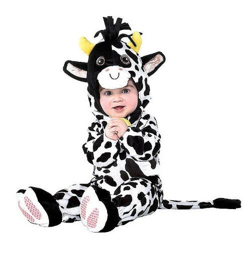 Costume de Vache pour Bébé