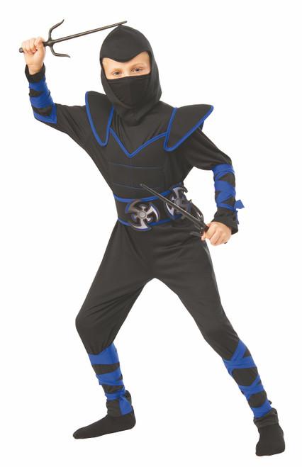 Costume de Ninja Bleu