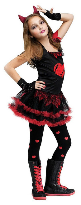 Costume Diable Diva pour Fille