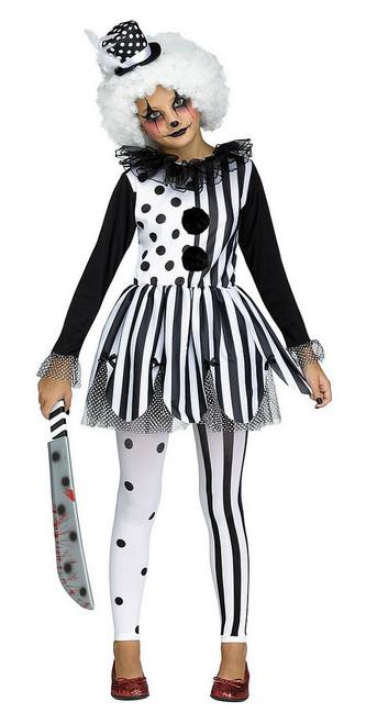 Costume de Clown Tueuse pour Fille