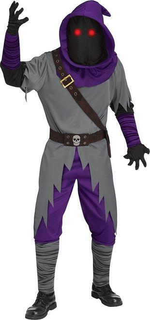 Costume de Mage inspire par Fortnite aux Yeux Clignotants Adulte
