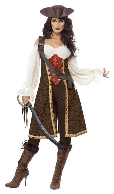 Costume de Pirate de la Haute Mer pour Femme