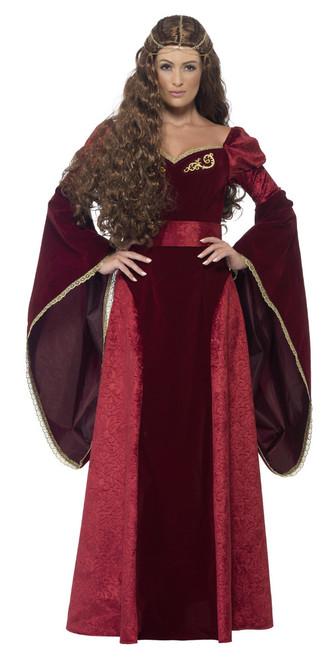 Costume de Reine Médiévale Deluxe