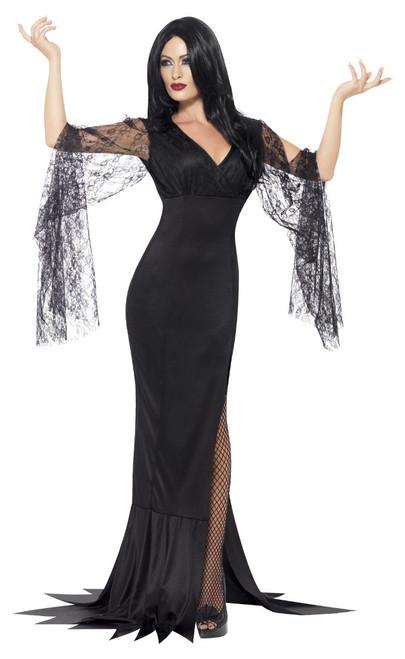 Costume d%u2019Âme Immortelle Femme Morticia Addams