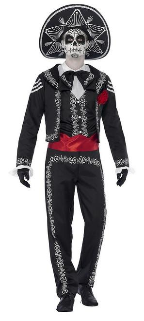 Costume du Jour des Morts Homme