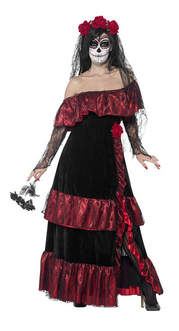 Costume Mariée du Jour des Morts